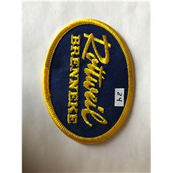 "Vintage Outdoors ""ROTTWEIL BRENNEKE"" Patch in Like New Condition"
