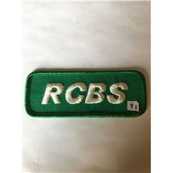 "Vintage Outdoors RCBS RELOADING"" Patch in Like New Condition"