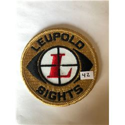 "RARE Vintage Outdoors ""LEUPOLD SIGHTS"" Patch in Like New Condition"