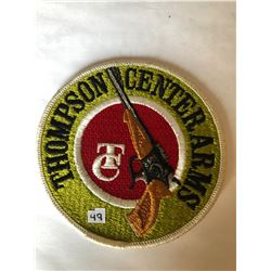 "RARE LARGE Vintage Outdoors ""THOMPSON CENTER ARMS"" Patch in Like New Condition"