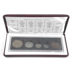 90th Anniversary Coin Set, Opening of RCM 1908-199