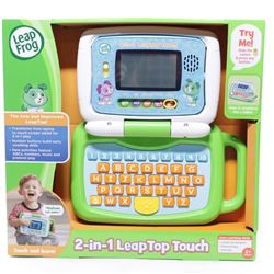 Leapfrog-LEAPH 2-in-1 Leaptop Touch- Pink (French Version)
