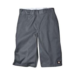 Dickies Mens 15 Inch Inseam Work Short With Multi Use Pocket- Charcoal- 34