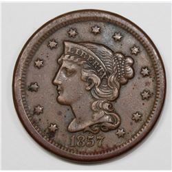 1857 SMALL DATE LARGE CENT