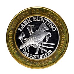 .999 Silver State of Colorado Collectors Series Limited Edition Gaming Token