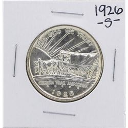 1926-S Oregon Trail Commemorative Half Dollar Coin