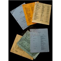 Back to the Future - Collection of Back to the Future Crew Paperwork - 1003
