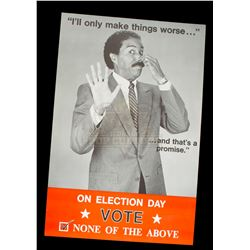 Brewster's Millions - Montgomery Brewster Campaign Poster (Richard Pryor) - 1073