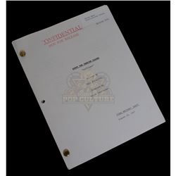 Buffy The Vampire Slayer (TV) - Production Used Script - 1005