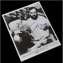 Cotton Club, The - Francis Ford Coppola Autographed Black & White Promo Photo - 1037