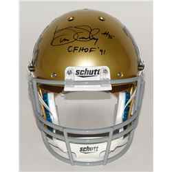 "Kenny Easley Signed UCLA Bruins Full-Size Helmet Inscribed ""CFHOF '91"" (JSA COA)"