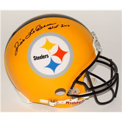"Dick LeBeau Signed Steelers Full-Size Authentic Pro-Line Helmet Inscribed ""HOF 2010"" (Radtke COA)"
