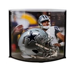 """Dak Prescott Signed LE Cowboys Full-Size Authentic Pro-Line Speed Helmet Inscribed """"ROTY 16"""" with Cu"""