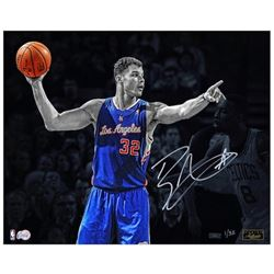"Blake Griffin Signed Clippers ""Directing Traffic"" 16x20 Photo (Panini COA)"