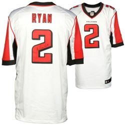 Matt Ryan Signed Falcons Authentic Jersey (Fanatics Hologram)
