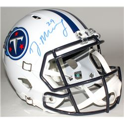 Demarco Murray Signed Titans Full-Size Speed Helmet (Murray Hologram)