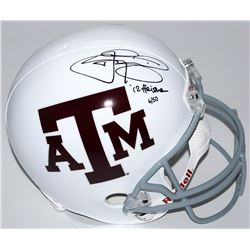 "Johnny Manziel Signed LE Texas AM Aggies Full-Size Helmet Inscribed ""12 Heisman"" (Panini COA)"
