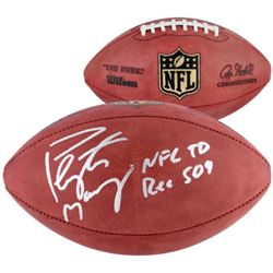 """Peyton Manning Signed """"The Duke"""" Official NFL Game Ball Inscribed """"NFL TD REC 509"""" (Fanatics Hologra"""