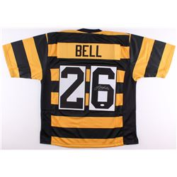Le'Veon Bell Signed Steelers Throwback Jersey (JSA COA)