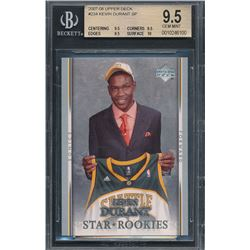 2007-08 Upper Deck #234 Kevin Durant SP RC (BGS 9.5)