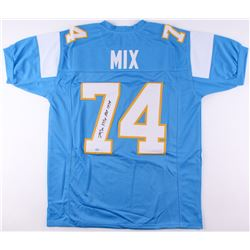 "Ron Mix Signed Chargers Jersey Inscribed ""HOF 1979"" (SGC COA)"