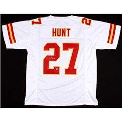 Kareem Hunt Signed Chiefs Jersey (Hunt Hologram)