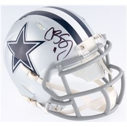 Cole Beasley Signed Cowboys Speed Mini-Helmet (JSA COA)