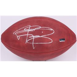 "Johnny Manziel Signed ""The Duke"" NFL Game Ball (Panini COA)"
