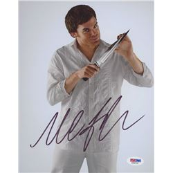 "Michael C. Hall Signed ""Dexter"" 8x10 Photo (PSA COA)"
