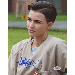 "Ruby Rose Signed ""Orange Is The New Black"" 8x10 Photo (PSA COA)"