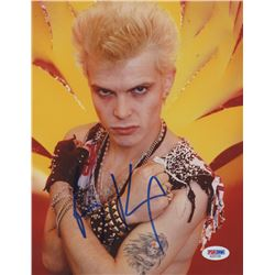 Billy Idol Signed 8x10 Photo (PSA COA)