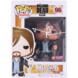 "Norman Reedus Signed The Walking Dead ""Biker Daryl"" Funko Pop Figure (Radtke COA)"
