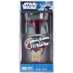 "Jeremy Bulloch Signed Boba Fett ""Star Wars"" Funko Bobble-Head Vinyl Figure Inscribed ""Boba Fett"" (Ra"