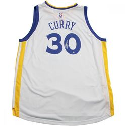 Stephen Curry Signed Warriors Jersey (Steiner Hologram)