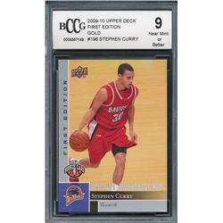 2009-10 Upper Deck First Edition #196 Stephen Curry RC (BCCG 9)