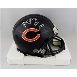 "Brian Urlacher Signed Bears Mini Helmet Inscribed ""HOF 2018"" (Beckett COA)"