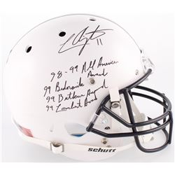 LaVar Arrington Signed Penn State Nittany Lions Full-Size Helmet With Multiple Inscriptions (JSA COA