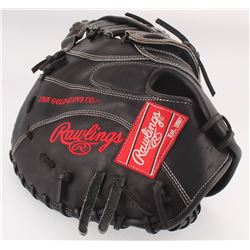 Freddie Freeman Rawlings Game-Used Baseball Catchers 2017 Training Glove (JSA COA)
