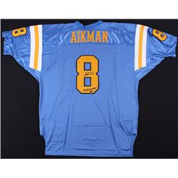 """Troy Aikman Signed UCLA Bruins Jersey Inscribed """"88 All-American"""" (Mounted Memories COA)"""