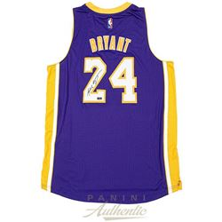 Kobe Bryant Signed Lakers Jersey Inscribed (Panini COA)