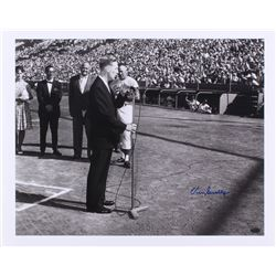 Vin Scully Signed Dodgers 16x20 Photo (Online Authentication COA)