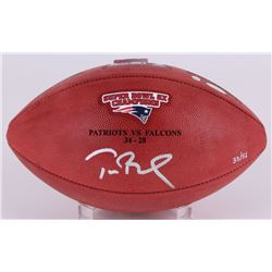"Tom Brady Signed Super Bowl 51 Limited Edition ""The Duke"" Patriots Logo NFL Official Game Ball (Stei"