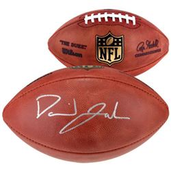 David Johnson Signed NFL Game Ball Football (Fanatics Hologram)