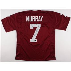 "DeMarco Murray Signed Oklahoma Sooners Jersey Inscribed ""6,718 AP""  ""65 TD's"" (Radtke COA)"