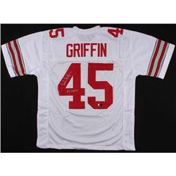 "Archie Griffin Signed Ohio State Buckeyes Jersey Inscribed ""H.T 1974/75"" (Radtke Hologram)"
