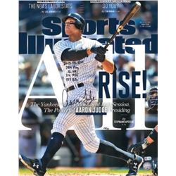 Aaron Judge Signed Yankees 16x20 Limited Edition Sports Illustrated Cover Photo (Fanatics Hologram)