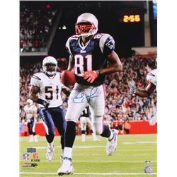Randy Moss Signed Patriots 16x20 Photo (Radtke Hologram  Moss Hologram)