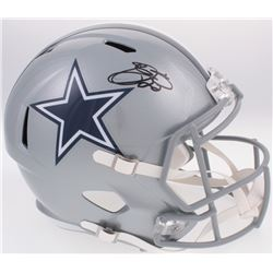 Emmitt Smith Signed Cowboys Full-Size Speed Helmet (Prova COA)