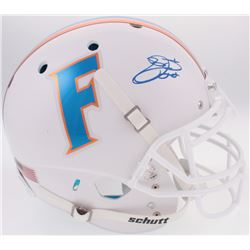Emmitt Smith Signed Florida Gators Throwback Full-Size Authentic On-Field Helmet (Prova COA)