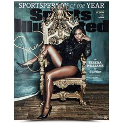 "Serena Williams Signed ""Sportsperson Of The Year"" 16x20 Limited Edition Photo (UDA COA)"